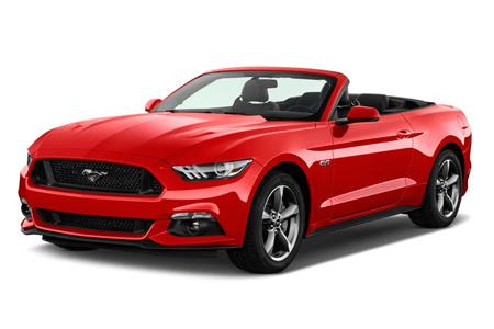 Cheap Rent-a-car Hawaii Mustang Convertible